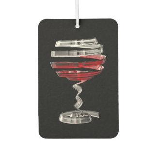 Weird Wine Glass Car Air Freshener