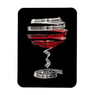 Weird Wine Glass Flexi Magnet
