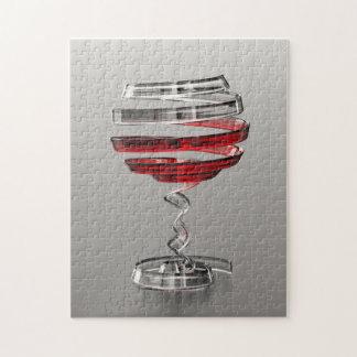 Weird Wine Glass Puzzle