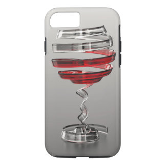 Weird Wine Glass Tough iPhone 7 Case