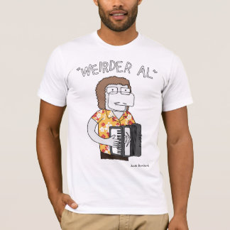 """Weirder Al"" in Gold T-Shirt"
