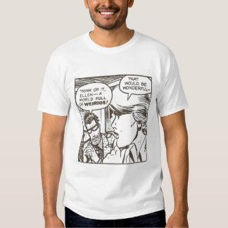 weirdo freak cartoon t-shirt