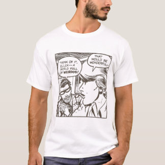 weirdo freak cartoon T-Shirt