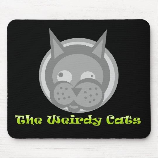 Weirdy Cats Mousepad