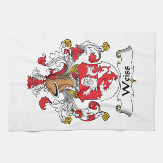Weiss Family Crest Kitchen Towel