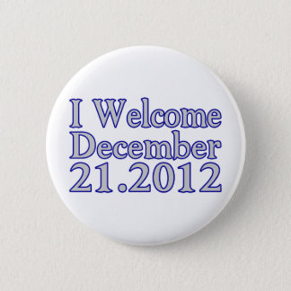 Welcome 2012 2 inch round button