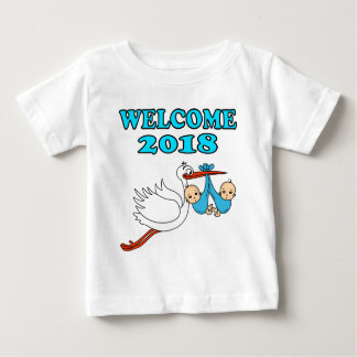 Welcome 2018 baby pregnancy birth baby T-Shirt