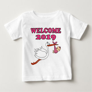 Welcome 2019 baby pregnancy birth baby T-Shirt