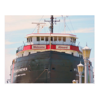 """""""Welcome Aboard"""" collection Postcard"""