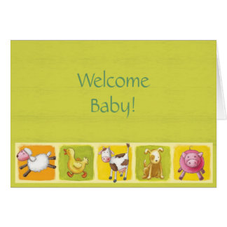 Welcome Baby! Card