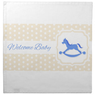 Welcome Baby Design Napkin
