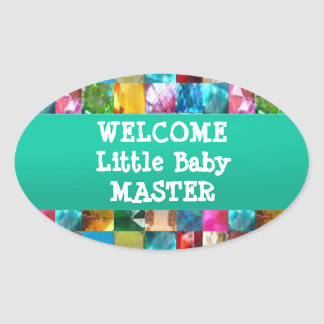 Welcome BABY Master Oval Sticker