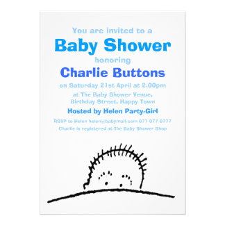 Welcome Baby Shower Custom Announcements