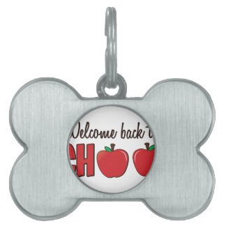 Welcome Back Pet Tag