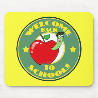 Welcome Back to School Mouse Pad