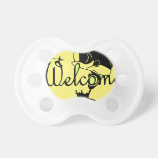 Welcome Bass Baby Pacifier