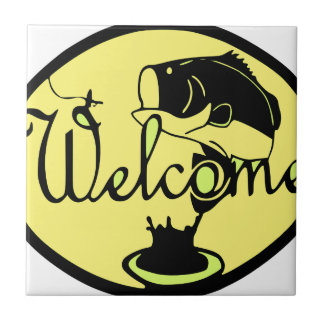 Welcome Bass Ceramic Tile