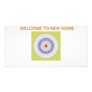.Welcome card Photo Card