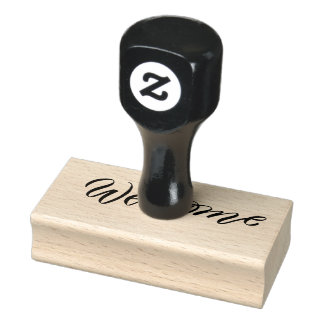 WELCOME craft Personalized rubber stamp