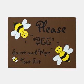 Welcome Door Mat/Bee's Doormat
