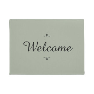 """Welcome"" Doormat"