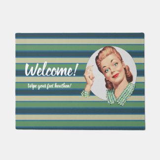 Welcome Doormat template