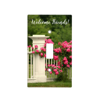 Welcome friends Lightswitch Light Switch Cover