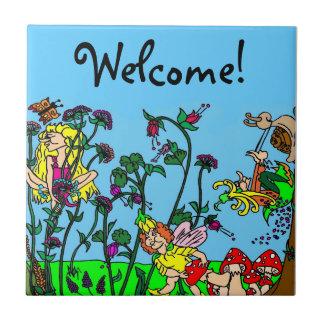 Welcome! Garden of Faeries Tile