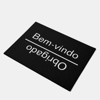 Welcome Goodbye In Portuguese Doormat