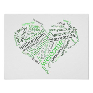 Welcome Heart (many languages) Poster
