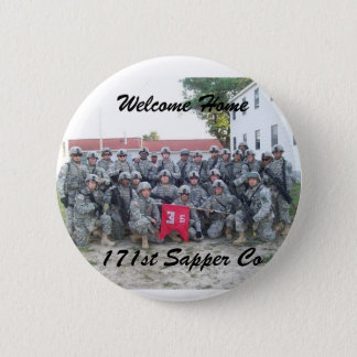 Welcome Home 171st sapper Company 2 Inch Round Button