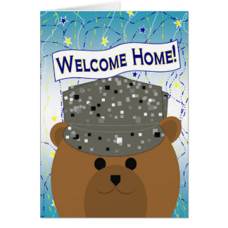 Welcome Home - Air Force Active Duty Card