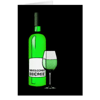 welcome home cheers greeting card