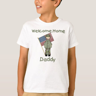 Welcome Home Daddy Army Brat (Son) T-Shirt