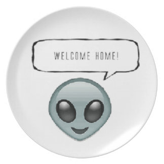 Welcome home! dinner plates