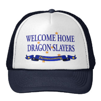 Welcome Home Dragon Slayers Mesh Hat