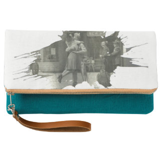Welcome Home | Fold-over Clutch