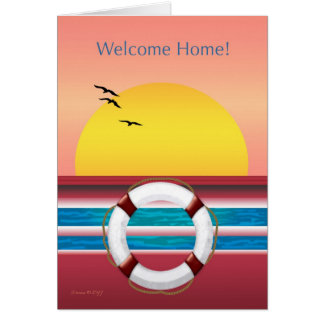 Welcome Home - From Cruise Card