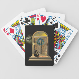 Welcome Home Kitty Cat Poker Deck