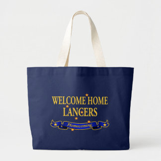 Welcome Home Lancers Large Tote Bag