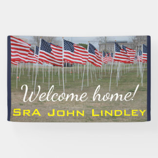 Welcome Home Military Banner #2