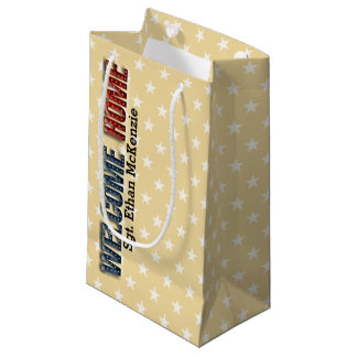 Welcome Home military Small Gift Bag