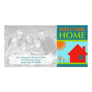 welcome home (mod crayola) photo cards