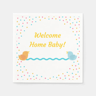 Welcome Home Napkins Paper Napkins