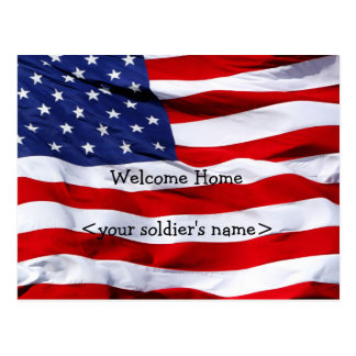 Welcome Home Party Postcard
