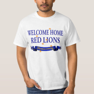 Welcome Home Red Lions Shirt