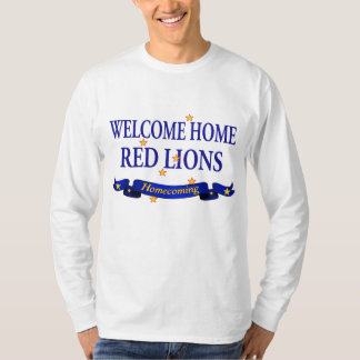 Welcome Home Red Lions Shirts