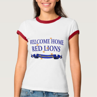 Welcome Home Red Lions T-Shirt