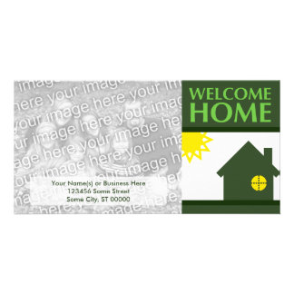 welcome home (shapes) picture card