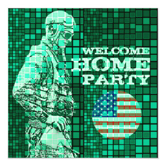 Welcome Home Soldier Party 1 Invitation